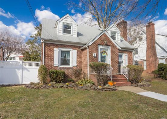 This Is Not Your Average Cape. This Expanded Cape Has An Open And Spacious Living Area For Todays Lifestyle And Is Great For Entertaining. Refinished Hardwood Floors And Freshly Painted Throughout. The Gas Heating System Is Three Years Young. Don't Miss This Meticulously Maintained And Updated Home