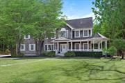 Sagaponack-One Of The Most Prestigious Zip Codes In The Country. 5 Br /4 Bath Home On 1.7 Acres Of Privacy. Heated Pool / New Hot Tub. Lots Of Open Interior Spaces. Lr With Fireplace, Dining Room And Large Eat-In Gourmet Kitchen. Extra Large Finished Bonus Room. Great House - Great Neighborhood.