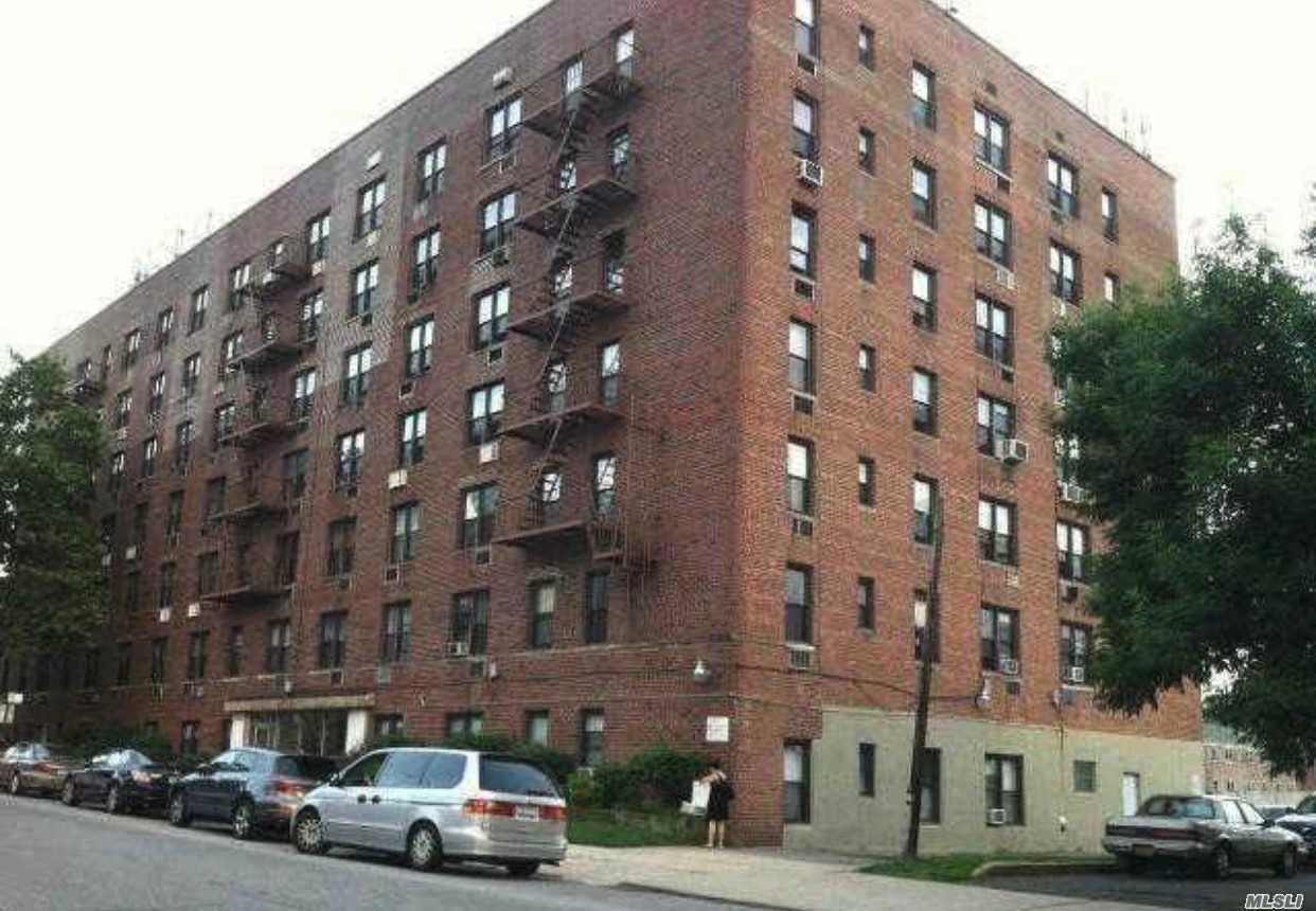 Location! Location! Location! Across Form Queens College. Q25 & Q34 To Flushing, Q64 To Forest Hill And Qm4 Express To Midtown Right On The Corner. Laundry, Live-In Super, Virtual Doorman. Low Common Charge Including Hot Water, Heat & Cooking Gas. A Must See!