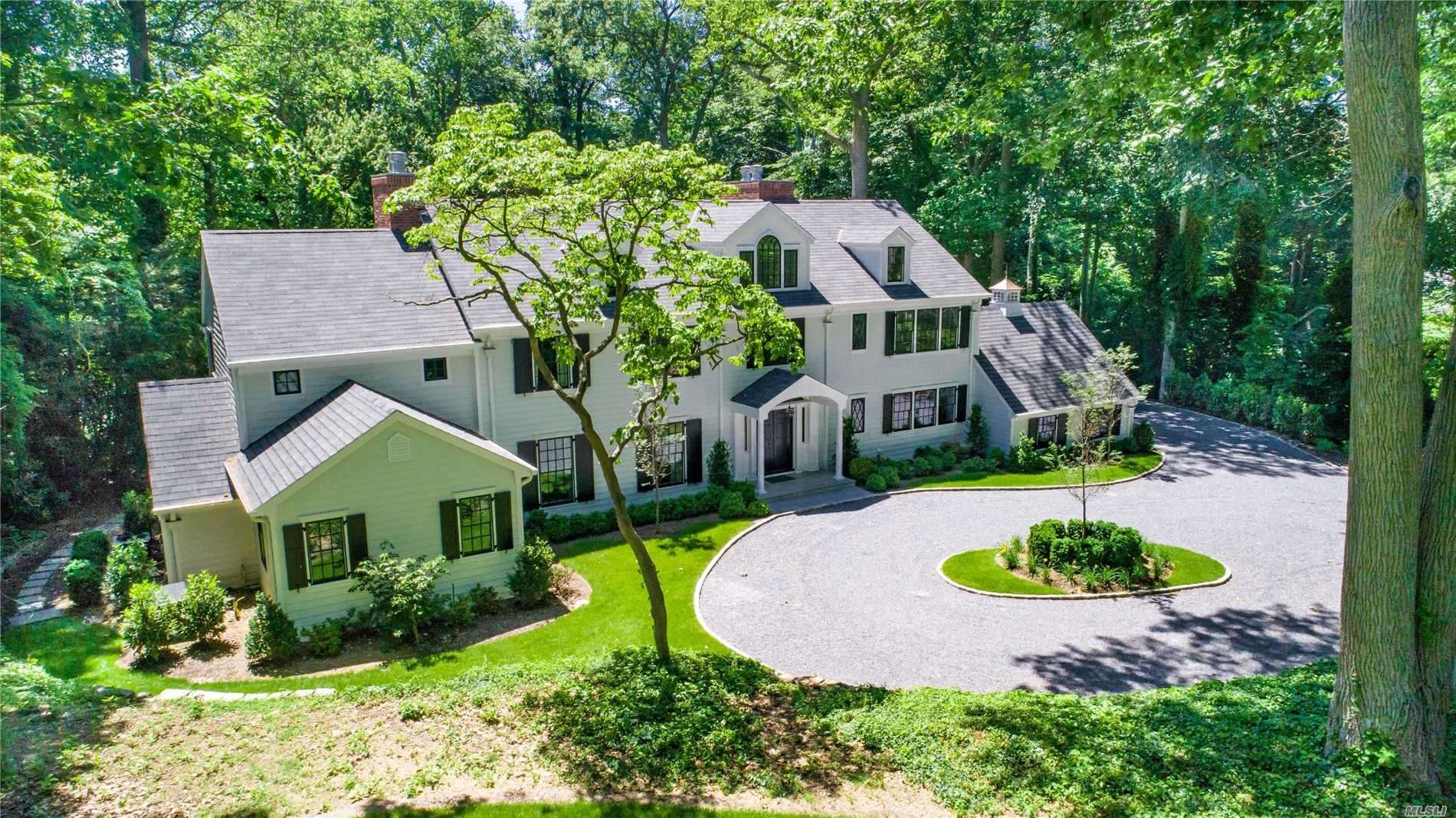 Newly Constructed With Striking Characteristics In A Very Desirable Flower Hill Location. A Wash With Old World Details. 6 Fireplaces, 5 Bedrooms Plus Loft (2 Master Suites). Amazing Kitchen/Den All Backed By A Charismatic One Acre Lot. Beautifully Landscaped, Circular Driveway. Close To Lirr , Shopping , Restaurants & Country Clubs.