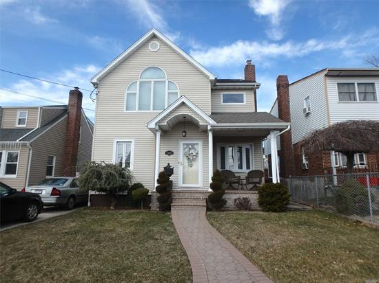 Beautiful Colonial, The Home Features Large Bedrooms, Beautiful Vaulted Ceilings In Master Bedroom W/2 Skylights, Walk-In-Closets And Additional Closet That Is Being Used As Office. Standup Attic With Pull Down Steps. Finished Basement With Full Bath, Separate Laundry Room With Slop Sink A True Must See!