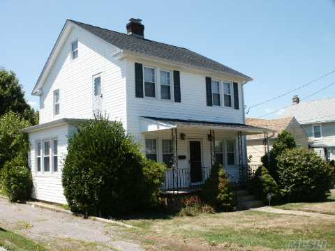 Live In One, Rent The Other. Motivated Seller! Legal 2 Family In Great Section.1st Fl: Lr W/Brick Fplc, Br, Study, Eik,Full Bth 2nd Fl: Lr, Br, Eik, Full Bath, Walk-Up Attic, Full Unfin. Bsmt, Large Yard, Hw Floors,New Windows, New Roof, New Siding, New Water Heater. Great Opportunity For First Time Buyers!
