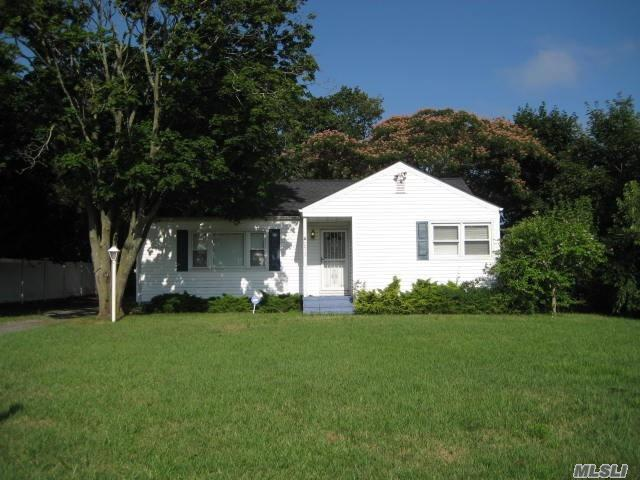Lovely 3 Bedroom Ranch With Lots Of Room. This Home Is Larger Than It Appears From The Outside. Roof Is One Year Old With 50 Year Guarantee. Property Tax - $7431 With Basic Star.