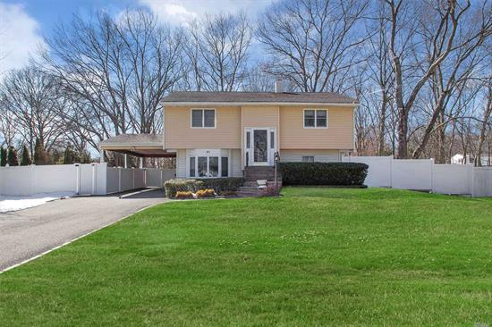 Great Opportunity In Three Village Schools. Mrs Clean Lives Here. Updated Roof, Siding And Heating. Chance To Update In Your Style. Immaculate Condition. Large 1st Floor Family Room W/Closet (Or 4th Bedroom). Beautiful Deck Overlooks Large Private Yard. Great Location Close To Shopping, Hospitals And University. Buyer To Verify Info.