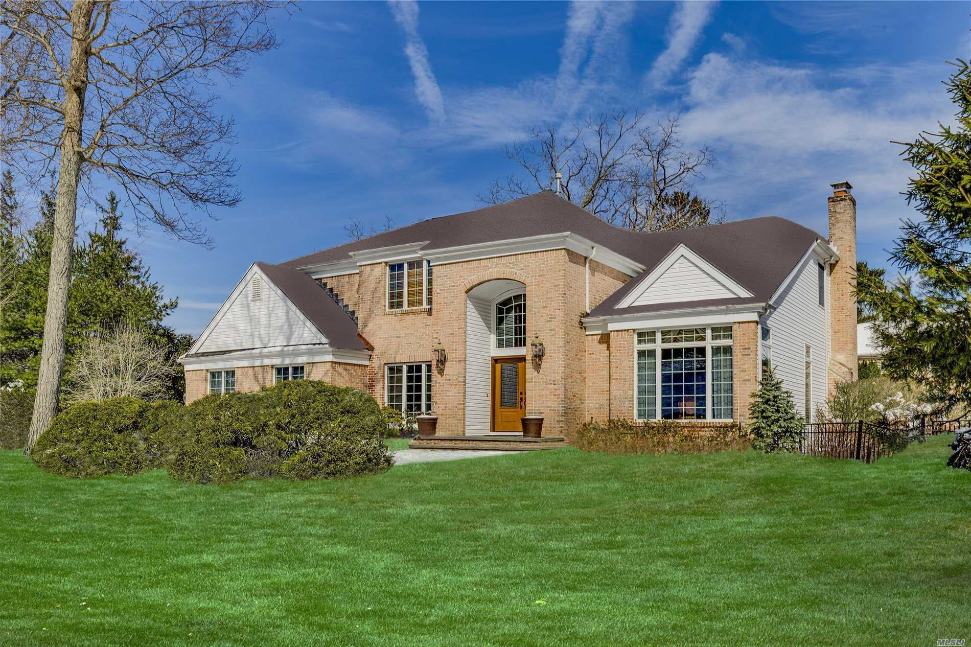 Beautifully Appointed Post Modern Colonial In Prestigious Gated Community.This Inviting Home Features Soaring Ceilings, Rich Wood Floors & Gracious Open Floor Plan You Are Looking For. High End Finishes Throughout & Featured In Elegant Upgraded Kitchen, Beautifully Renovated Bathrooms & Custom Built Ins.Fabulous Finished Lower Level Offers More Living Space.A True Must See!Award Winning Hhh Schools-Hhhw.Hoa Covers 24 Hr. Sec, Pool, Tennis, Gym, Playground