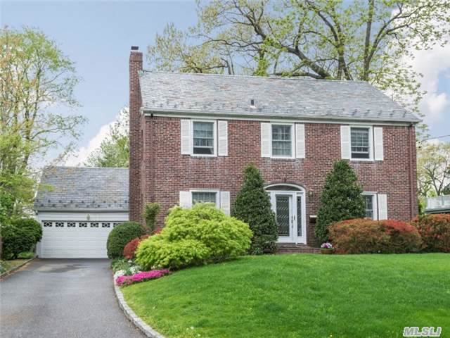 Beautiful Munsey Park Colonial With 4 Bedrooms And 2.5 Bathrooms.