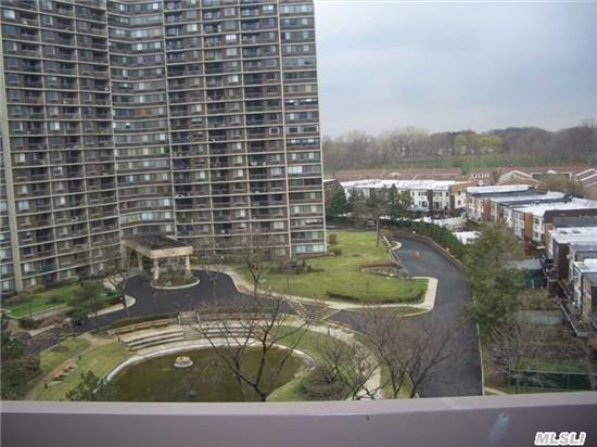 Beautiful Unobstructed View, Hi Floor 1 Bd, 1 Bath With Terrace. Dining Area. Lots Of Closets. Assessment: $188.76 All Info Is Approx. And Must Be Verified.