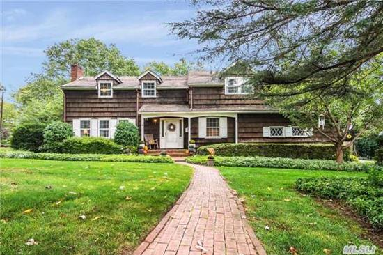 Great Opportunity, Harborfields Schools, 4 Br, 2.5 Bth Colonial, Large Rooms, Hw Floors, Great Opportunity To Make Something Your Own! Moments From Library, Lirr, Schools! Taxes Being Grieved.