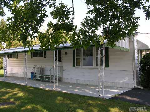Private & Spacious Double Wide!  Don't Miss This Beautiful Home  All New Thermal Windows,New Cac  New Carpeting,New Roof,New Heating System!!!$523.Mo Incl Taxes,Rent,Water&Garbage.