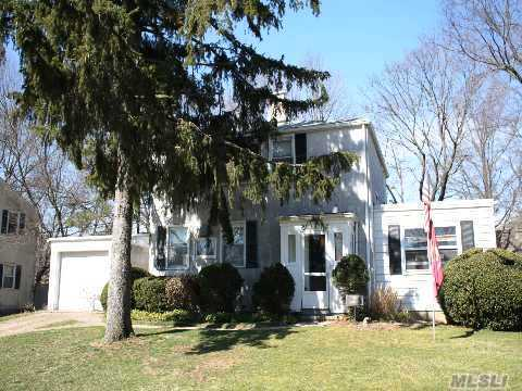 Great 3 Bedroom Colonial With Large Living Room/Fpl & Built-Ins, Extended Family Room W/Built-Ins On Deep Private Property. Herricks Schools. Blinds & Drapes Are Included. Reduced For Quick Sale. Ulimited Potential, Sold 'As Is' Condition.