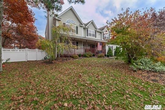 Beautiful Victorian With Lovely Country Air, Featuring 4 Bedrooms, 2.5 Baths, Living Room W/ Fireplace, Den W/ Wood Stove, Formal Dining Room. Kitchen W/ Ss Appliances. Full Bsmt Finished, L Shaped Pool W/ Neoliner. .85 Property In A Cul De Sac.