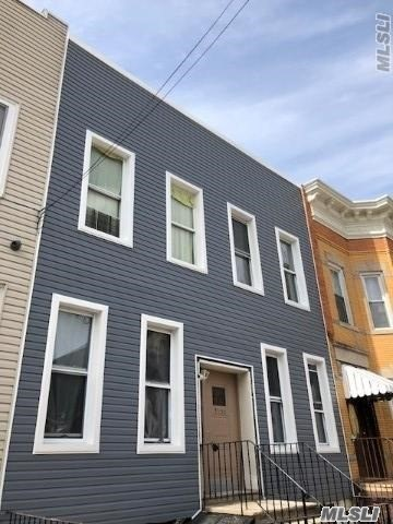 4 Family Renovated, Income Property, Great Monthly Cash Flow. Stainless Steel Appliances, Hardwood Flooring, Video Intercom System, Too Much To Mention.  (4) 2 Bedroom Railroad Apartments. 25 X 63 Building Size.       Free Market Rent Projected Annual Rent: $91, 200 Taxes: $6073 Heat: Gas