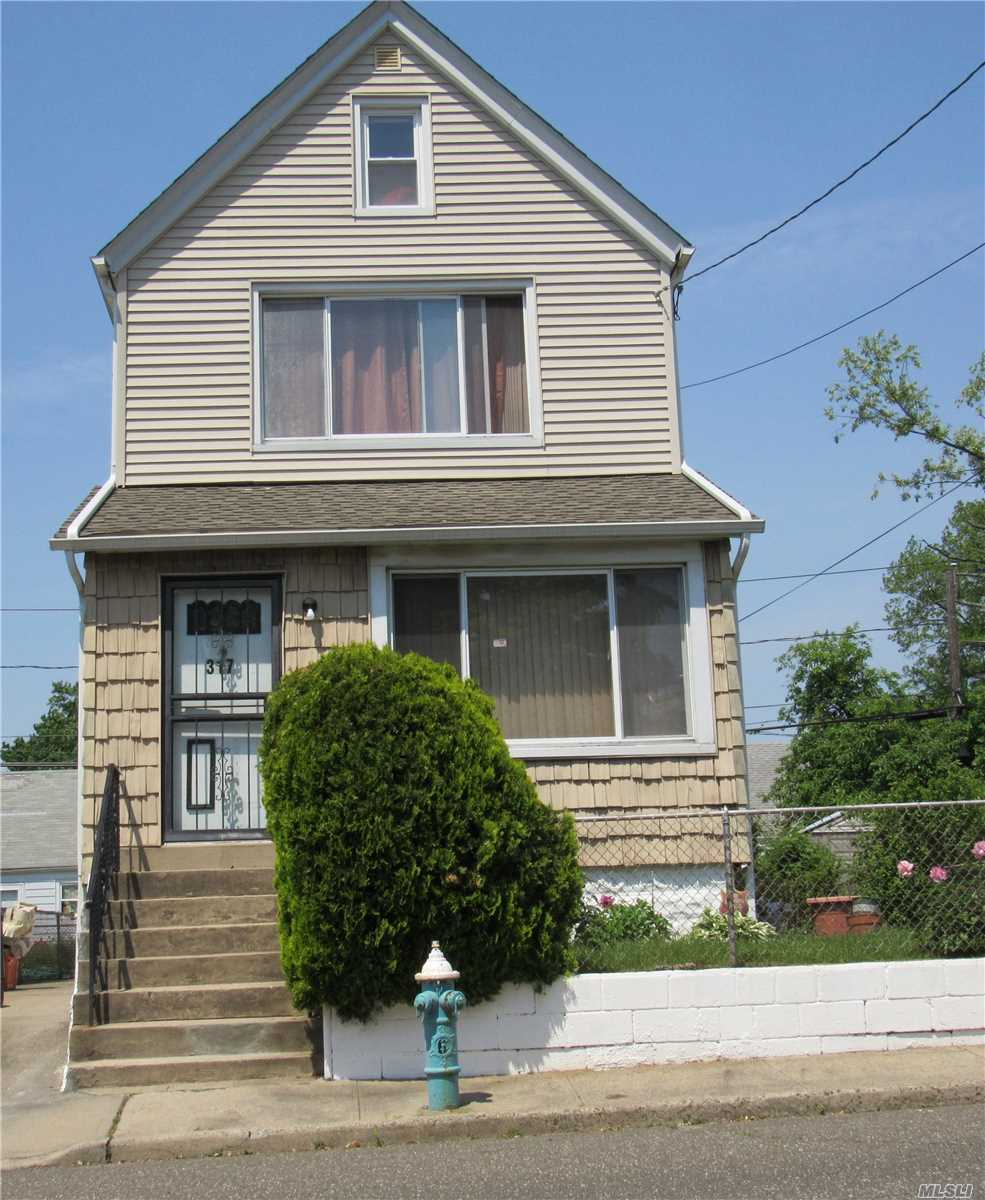 Well Kept One Family Home In Elmont School District Of Nassau County. Comes With 3 Bedrooms, 2 Full Bath, Living Room, Formal Dining Room & Eat-In-Kitchen. Close To Highway, Malls & Belmont Racetrack. **Huge Price Reduction**