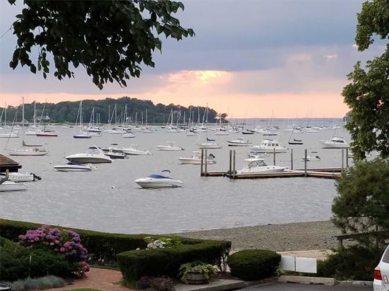 Gorgeous Western Sunsets Overlooking Northport Harbor! Multi-Level Townhome Within The Village Of Northport In The Community Of Harbour Villas Inc. 3/4 Bedrooms, 3 Baths, Hard Wood Floors, Vaulted Ceilings, Cac, Easy Lifestyle, Boaters Delight!! Dock & Moorings.