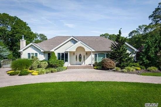 Ultimate Extended Familiy Home. Gorgeous, Open And Spacious 4600 Sqft Ranch. Built Top Of The Line With Every Up Scale Extra. Landscaped To Perfection. Walk-In Entry To Lower Level Which Offers Kitchen Master En Suite Bedroom, Full Bath & Living Area. Comes With Buildable Lot.