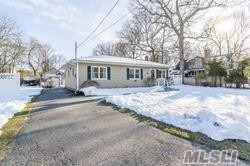 Step Right Into This Beautiful Ranch & Enjoy All The Comforts Of Home. This Ranch Offers 3 Good Sized Bedrooms, 2 Full Baths, Kitchen, Living Room & Dining Area. Along With A Surprise Party Room With Deck, Detached From The Home, Call It A She Shed, Man Cave Or Art Studio.