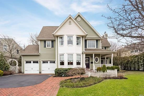 This Superb Victorian Built In 2005 Features Fine Craftsmanship And Amazing Attention To Detail, In A Modern Home With Amenities Galore! The Owners' Love For This Home Is Evident In That They Spared No Expense In The Masterful Interior With Exceptional Woodwork And Moldings, Luxurious Landscaping, Wine Cellar And So Much More! Convenient To The Lirr Too! Come See For Yourself!