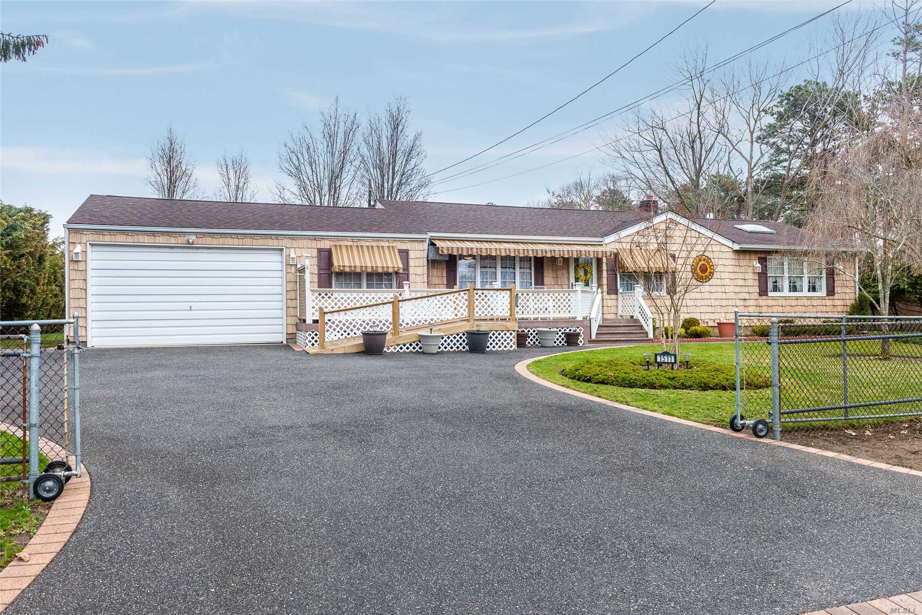 Lovely 3 Bedroom 2 Bathroom Ranch In Bay Shore For $349, 990. Boasting A Beautiful Living Room With Fireplace, Master Bedroom W/ Private Bath, Granite Counters, Hardwood Floors, Attached Garage & Much More! Situated On A 1/4 Acre At The End Of A Quiet Street!