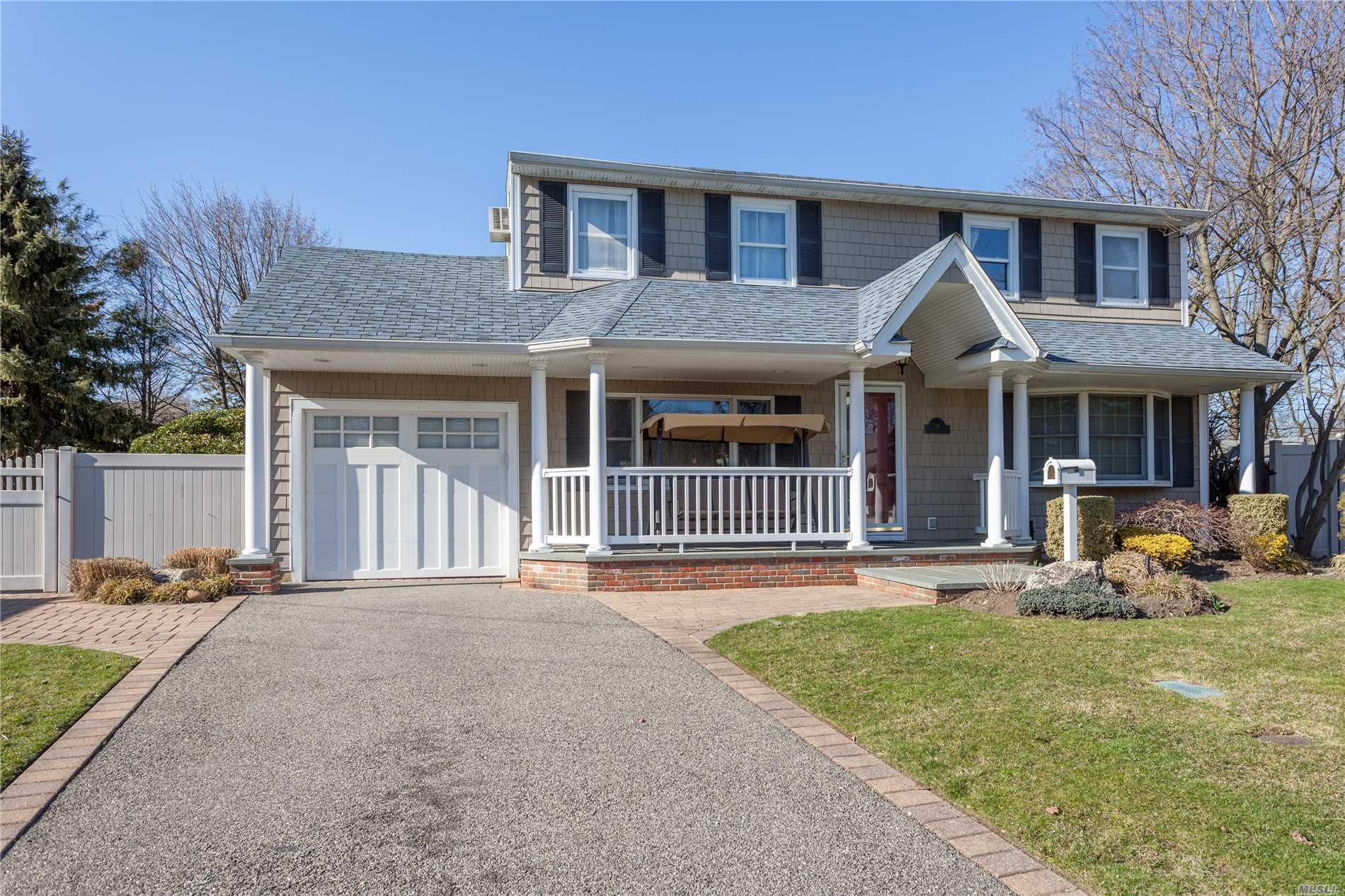 Diamond Condition - 6 Bedrooms With 1 Additional Bonus Room. Beautiful Backyard With Water Fall & Basketball Court - Large Family Room - Big Rooms - Full Basement - Low Taxes - Syosset Schools