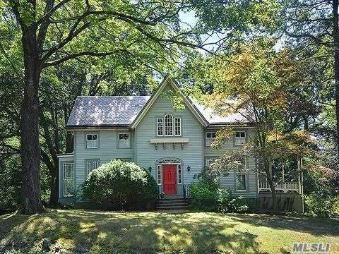 Privately Yours...Enjoy Unbelievable Pastoral Seclusion With This Lovely Victorian, Which Is Elegantly Appointed For Entertaining. Huge Windows Allow You To Enjoy The Outdoor View Year Round. Oversized Grounds, Spacious Rooms, Refined Elegance...