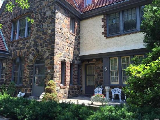 This Magnificent House In Exclusive Forest Hills Gardens, Designed By Grosvenor Atterbury, Was Finished In 1925.One Of A Kind, Side-By-Side 2-Family Tudor In Highly Desired Location Just Steps To Lirr Station (15 Min.To Penn Station ) And Express Subway ( E And F). Also Near The West Side Tennis Club Which Offers Dining For The Members, Pool And Of Course Tennis.House Overlooking Front And Rear Private Community Park Offers 7 Bedrooms, 6 Full Bathrooms And 1 Half Bath.