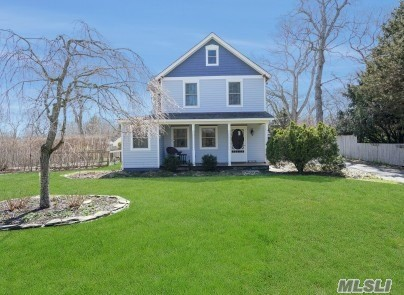 Close To Train, Jitney And Nearby Beaches.Beautifully Renovated, New Everything! Gourmet Chefs Kitchen With Custom Cabinetry, Subway Tile, Stainless Steel Farm Sink And Appliances.Hard Wood Floors Thru Out, All New Bathrooms And Tile Work.Must See To Appreciate This Well Appointed Move In Ready North Fork Farm House. Backyard Is Spacious With Plenty Of Room For A Pool. Plant Your Vegetables In The Fenced Raised Bed Garden. Move Right In And Begin Your North Fork Summer.