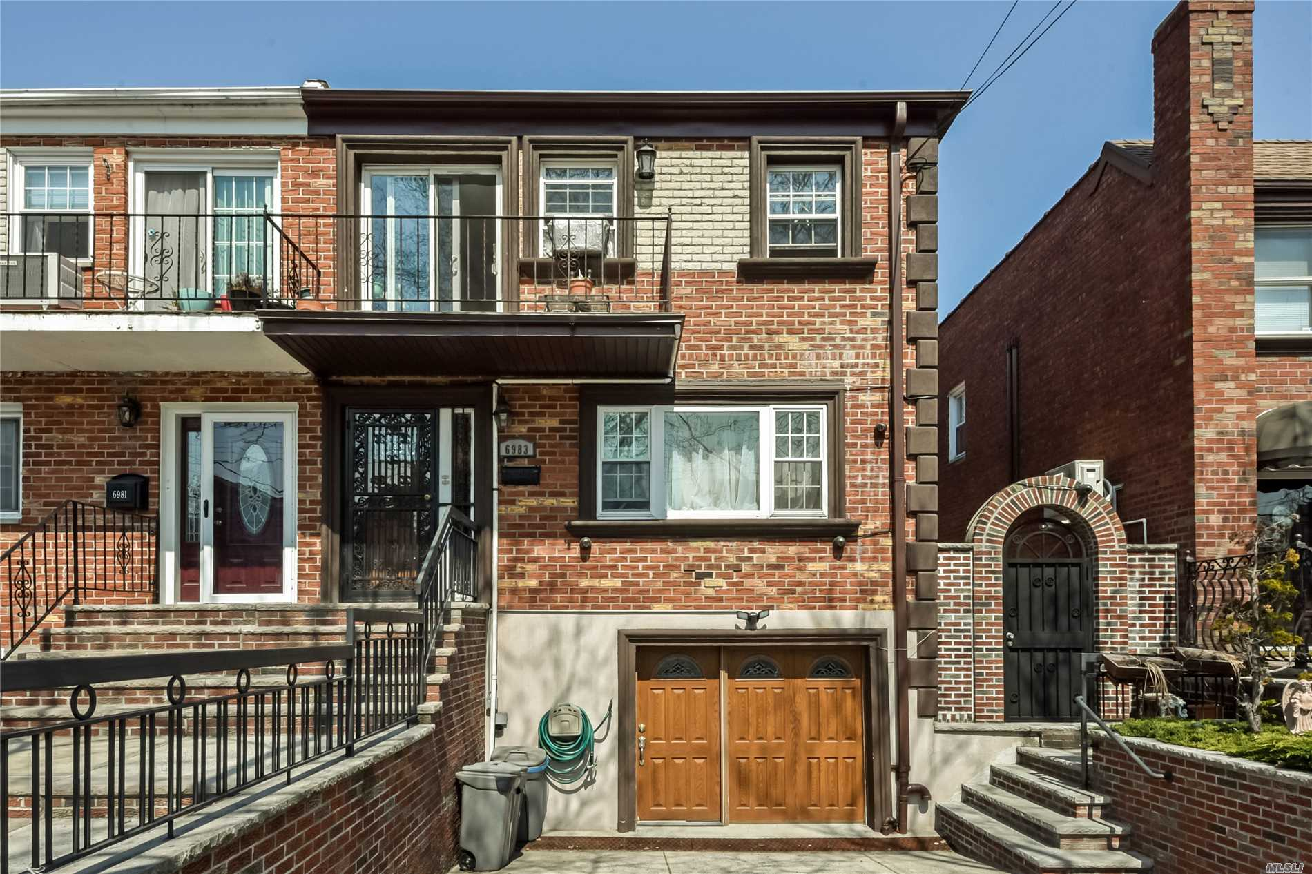 Excellent Condition 2 Fam Brk Home Located Near Eliot Ave (Xpress Bus To City), 1st Ll & Bsmt Used As Duplex (4 Bdrms, 2. Bths), 2nd Fl Has 6 Rms 3 Bdrms, 1.5 Bths, Garage & Pvt Drvway (Fits 2 Cars) In Front Of Home, Large Private Yard, All Modern, Granite & Stainless Stteel Kitchens, New Roof (2011), New Boiler, New Hw Tank Updated Windows, Pointing Done In 2016, Move Right In..