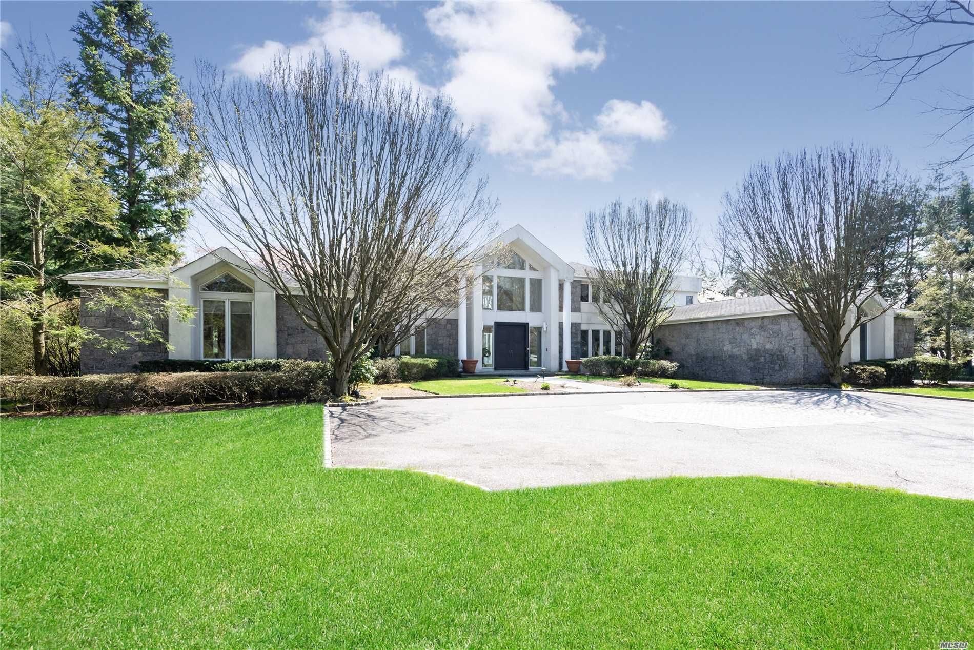 Chic, Modern And Custom Built Home To Suit Your Every Need, This Sprawling Home On Over 4 Acres,  Stunning Old Westbury Acres With An In-Ground Pool And A Private Tennis Court New Basement, Detail Amenity And System In This Home Was Carefully Considered And Globally Sourced To Elevate Day-To-Day Living In Elegant Yet Welcoming Surroundings. The Result: 97 Wheatley Is The Rare Example Of Form And Function Harmoniously Coexisting With Twin Circular Spiraling Staircases. All Info. Ntb Verified.