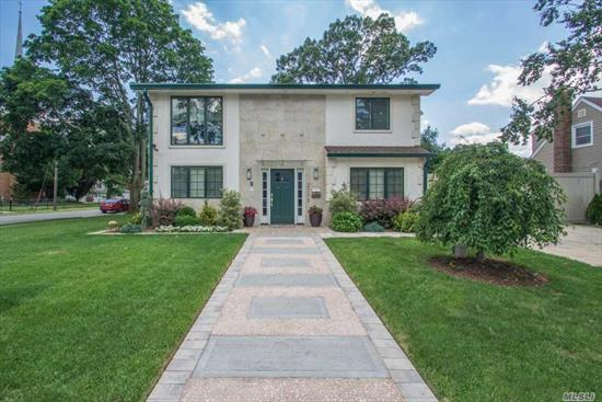 One Of A Kind Totally Renovated Colonial. Huge Lvrm W/Duel Sided Fireplace, Large Formal Dr, Custom Eik W/Imported Walnut Cabinets, Granite Counters & Vaulted Ceilings. Guest Bdrm Off Laundry Rm & Full Bath. Mstr Suite W/Walk In Closet & Full Custom Bath, 2 Large Bdrms & Full Bath. Radiant Heat Thru Out This House, Security Cameras, Lg Back Yard Great For Entertaining. Too Much To List But Call To Get A Private Showing Of This Originally Designed Home