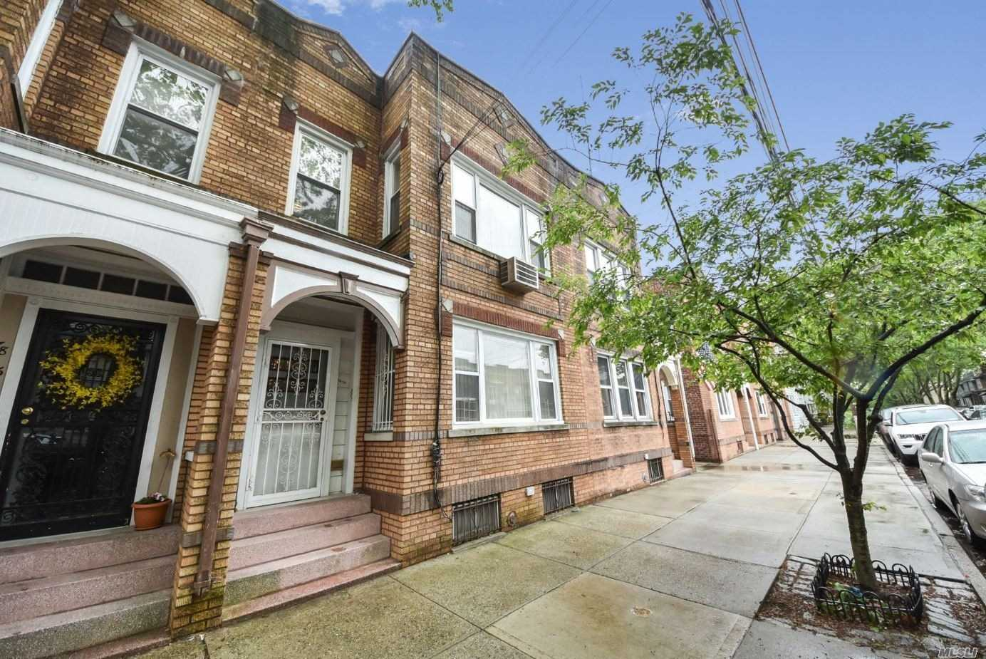 Great 2 Family Brick Home Located In Glendale, 1st Fl Features 5 Rms-Eik, Lr, Fdr, 2 Bdrms 1 Full Bth & Rear Patio. The 2nd Fl Features 6 Rms-Eik, Lr, Fdr, 3 Bdrms 1 Full Bth And Rear Terrace. The Basement Is Finished (Used For Storage), Community Drvwy & 2 Car Garage.