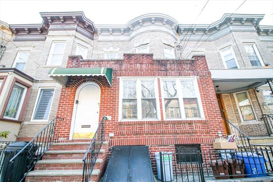 This Beautiful Two-Family Brick House Is Located At One Of The Most Convenient Blocks In Ridgewood. Only A Block Away From Myrtle Ave And Fresh Pond Rd, 2 Blocks Away From The Park, 3 Blocks Away From School. Another Huge Plus Is Close To All Forms Of Transportation! Buses(B13, B20, Q39, Q55, Qm24, Qm25, Qm34), Subway(M, L Train) And 2 Minutes Away From Jackie Robinson Pkwy. Exterior Stucco Is 5 Years New! First Floor Offers Original Hardwood Floor, And Kitchen And Windows Are 2 Years New.