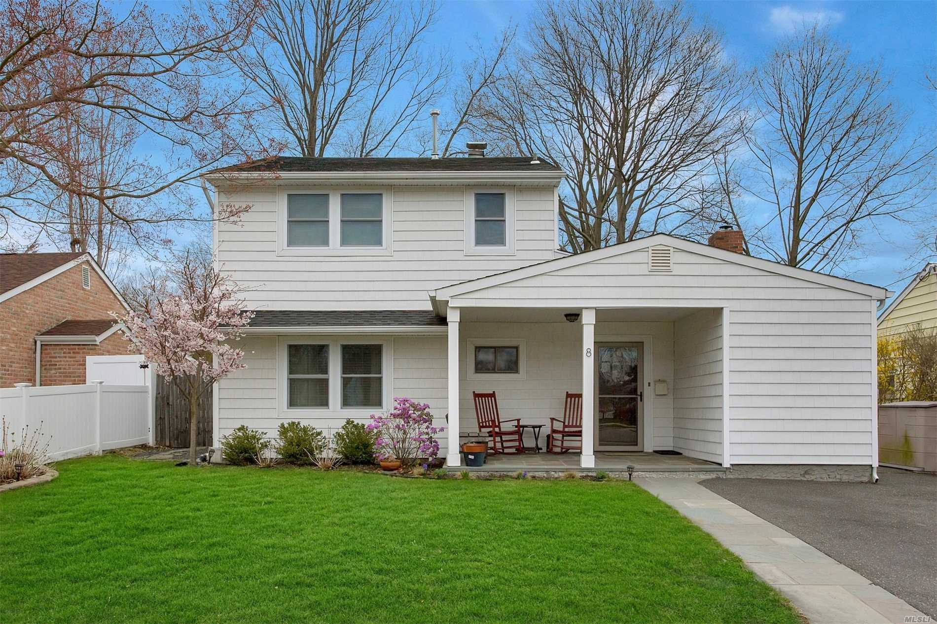 A Newly Renovated 4 Bedroom Cape, Featuring A Living Room With Fireplace, Dining Area, Granite Kitchen, 2 Full Updated Baths, Laundry, Plenty Of Closets, Private Back Yard For Entertaining And Alarmed, A Must See. Welcome Home!