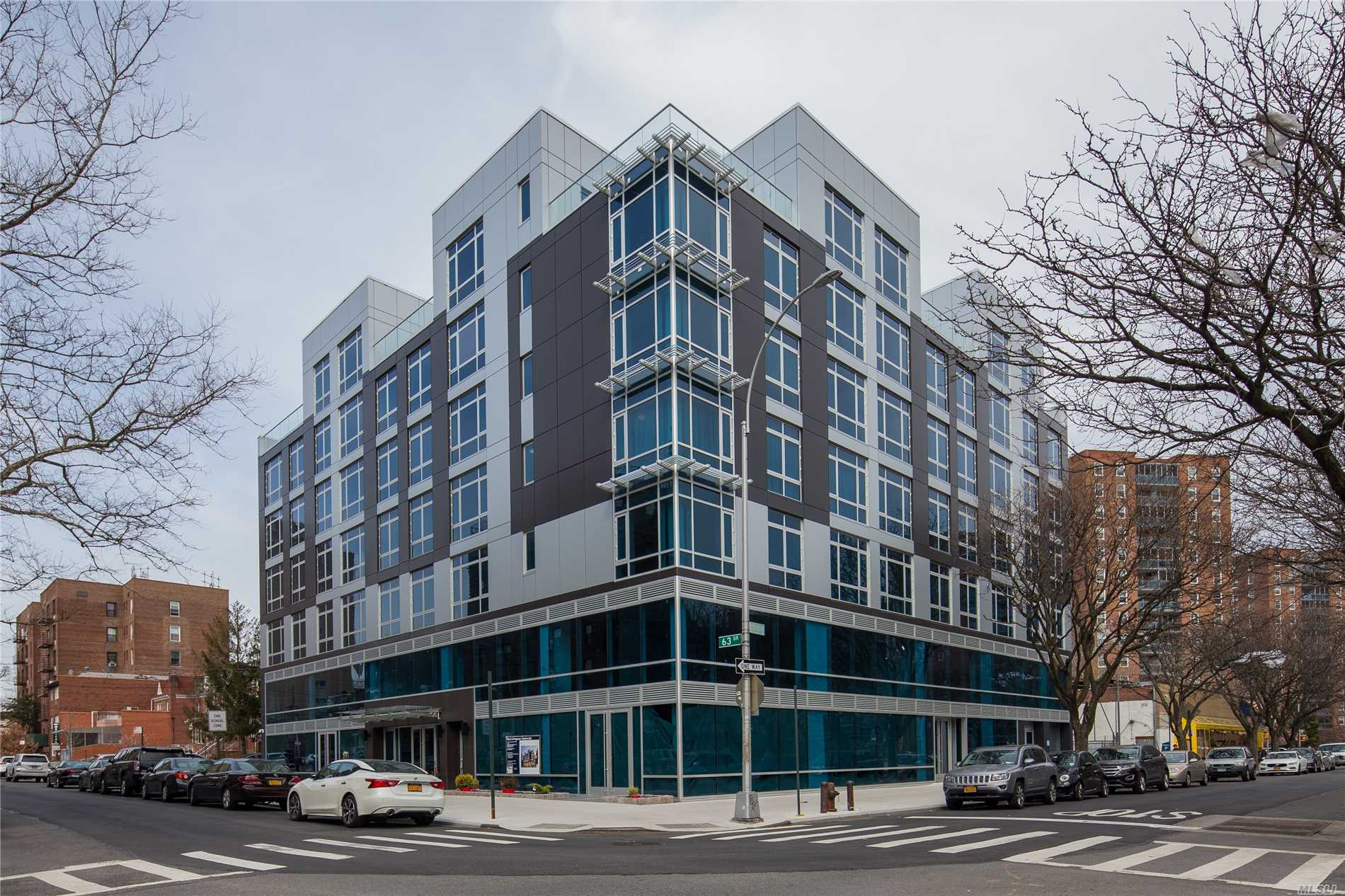 Brand New Condo With 15 Years Tax Abatement, 1 Block To Subway Station, Queens Blvd., Shopping Mall.....Modern Design With Top Line Appliances