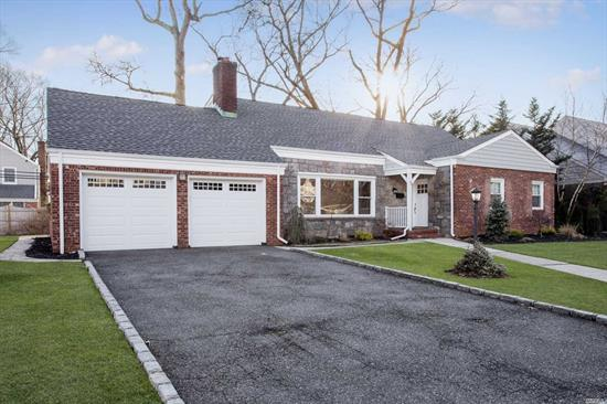 New Canterbury Sec In Rvc. Beautiful 3000 Sq Ft W/Unsurpassed Attention To Detail. Features Include Quartz Counter Tops, Glass Tile Back-Splash, Professional Ss Appliances. Crown Moldings, Cac, & Hardwood Flrs. Master En-Suite + 3 Lrg Brs W/ Generous Closets. Livingroom W/Fpl. Formal Dr, Large Den & Full Finished Basement. 2 Car Attached Garage. Rockville Centre Schools! Taxes Grieved Letter On File, Going Down By 33.99%.