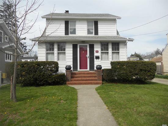 Charm Abounds From This Dutch Colonial ! Over Sized 50X150 Property And A 2 Car Detached Garage. Good Size Rooms. Breakfast Nook In Kitchen With Door Leading To Covered Deck And Yard. Brand New Hot Water Heater. Wood Floors. Good Size Master Bedroom. Access To Walk Up Attic That Can Be Dormered. 100 Amp Service.