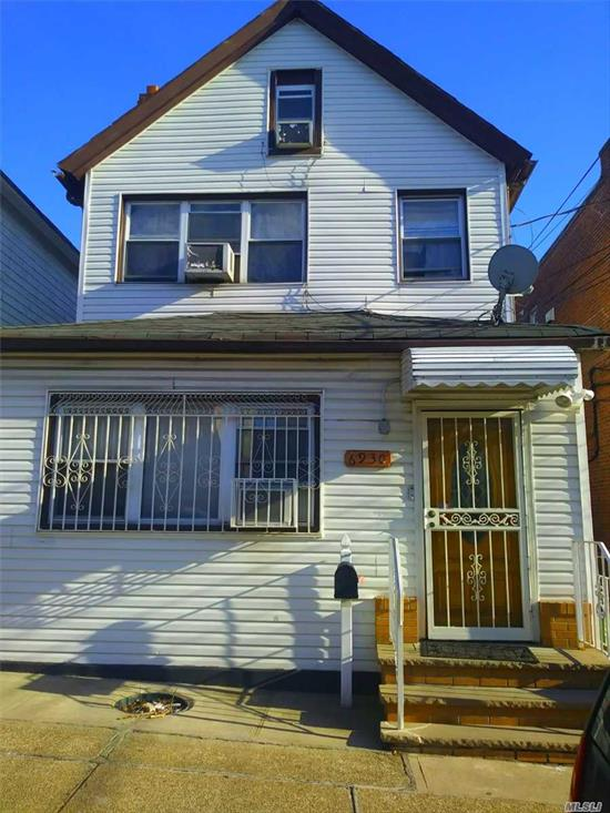 2 Family Frame Detached In Excellent Location. With A Full Finished Basement With A Separate Entrance.
