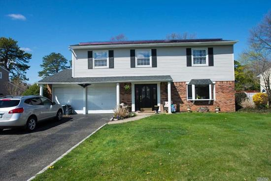Beautiful Expanded *** One Of A Kind Home*** Hardwood Floors And Custom Moldings Throughout.Updated Expanded Eat In Kitchen With Custom Cabinets Granite With Big Eating Area. Family Rm With Fireplace. Beautiful Living Room With Large Windows. Additional Great/Family Room. Spacious Master Bedroom With Bathroom. Lovely Property With In Ground Pool. Set On End Of Quiet Street.
