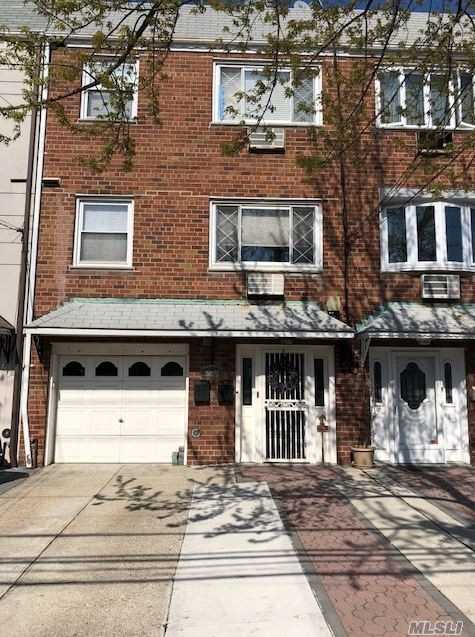 Great 2 Family Home Located Off Of Eliot Ave & 1 Blk To Juniper Prk, 1st Fl & 2nd Fl Used As Duplex, Kitchen, Dr, 3 Bdrms 1 Full Bth + Fam Rm On 1st Fl, 3rd Fl Has 5 Rms 2 Bdrms, ;Arge Private Yrd, 1 Car Garage & Pvt Driveway