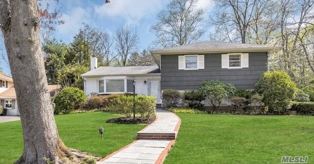Great Location So Close To Village In Sought After West Neck Location! House Shows Bright And Immaculate, Well Cared For With Generous Size Rooms. Eik Opens To Redwood Decking - Wonderful Family Room With Wood Pained Sliders That Open Up To Pretty Blue Stone Patio Overlooking Private Flat Backyard. Easy Proximity To Huntington Village And Town Beach And Caumsett State Park. Hunt Sd#3 House Sold As Is.