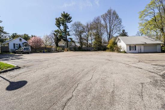 .75 Acre Lot Expected To Yield 3 Conforming Building Lots Zones R-10