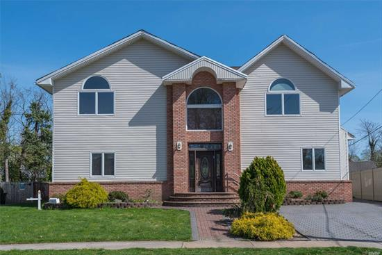 Large Colonial Rebuilt In 2008. Open Floor Plan W Very Large Rooms Making It Perfect For Entertaining. Grand 2 Story Entry Foyer Opening To Living Room, Dining Room And Gourmet Kitchen.  ( Home Being Sold As Is )