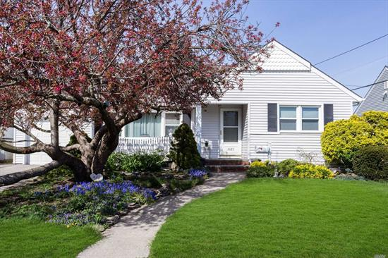 Updated 3 Bedroom 2 Bath Ranch Located In The Desirable Section Of Wantagh Woods. House Includes Nice Size Living Room And Dining Room, Eat In Kitchen, 3 Bedrooms Including A Master Suite, Hall Bath And Attached Garage. Full Partially Finished Basement With High Ceilings.
