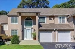 Beautiful Spacious Condo In Smithtown! Newer Windows, Slider, Roof, Hot Water On Demand, Updated Expansive Eik W/New Ss Appliances & Granite Countertops, Flr, Fdr, Newer Wood Floors, Open Floor Plan For Entertaining, Oversized Bedrooms, Newly Finished Basement. New Retaining Walls, Private Yard & Deck Huge Master Bedroom Ensuite With Wic