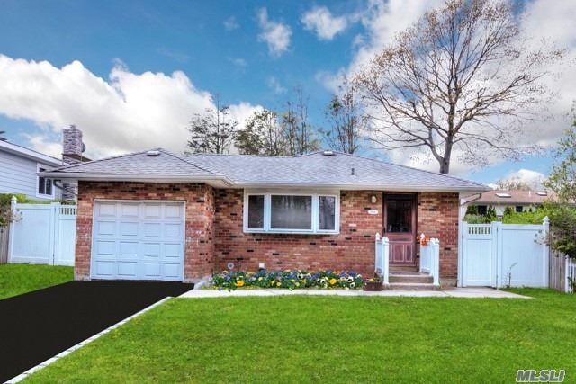 Lovely 4 Bedroom, 2 Full Bath Ranch With Full Finished Basement With Room  For Mom