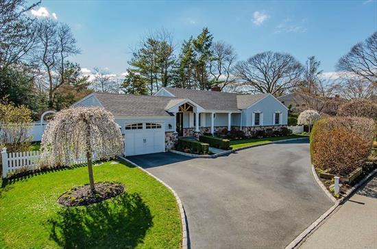 Custom Gem In Bay Hills Beach Assoc. Diamond Condition & Luxury Amenities From Floor To Ceiling. Fully Upgraded Everything: Architectural Roof, Stone & Double Dipped Shake Siding, Porcelain & Wood Fls. All Andersen Wndws, Solid Doors, New Appliances, Lighting & Moldings. Open Layout, Exquisite Details, Fully Fenced, Gorgeously Landscaped. Bliss In Bay Hills. Beautiful Beach W/Tennis, Summer Camp, More. Hurry.
