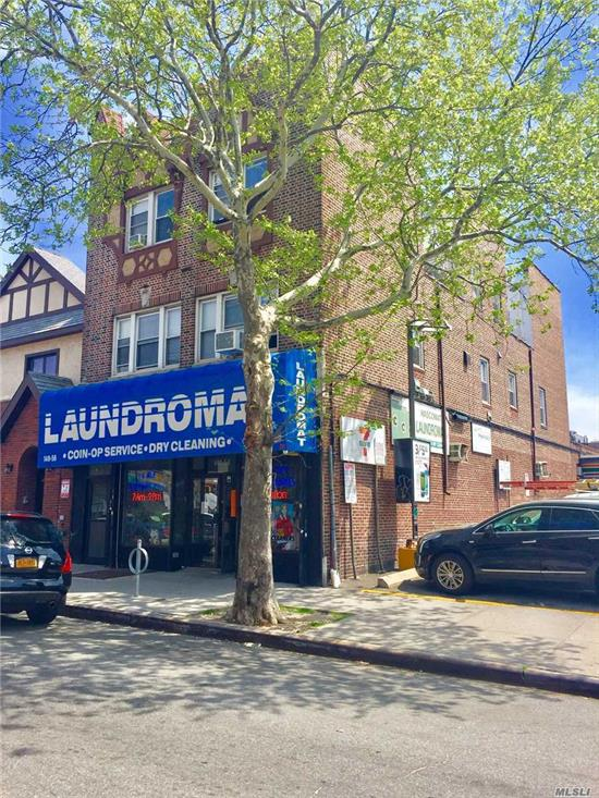 Only Cash offers. Superb 2 Family With Laundermat. 4 - 2 Bedroom Apartment. Locaation Location. All Brick.