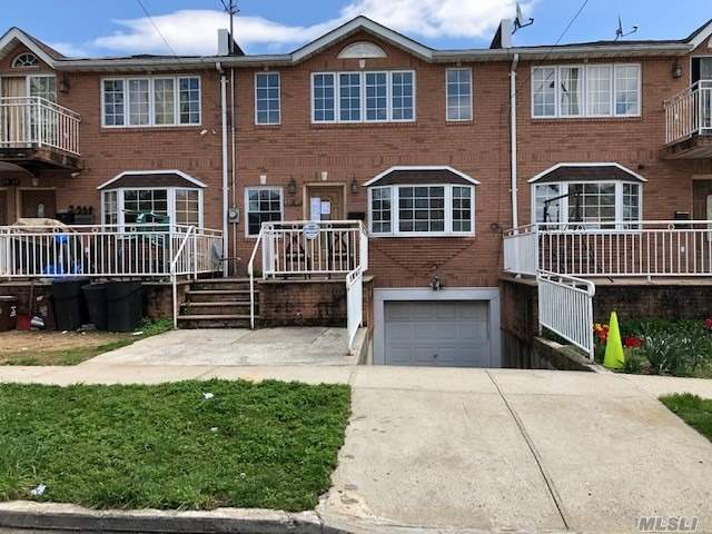 Beautiful One Family Featuring 4 Bedrooms, 2 Bathrooms, Kitchen, Living/Dining Room And Basement With An Attached Car Garage.