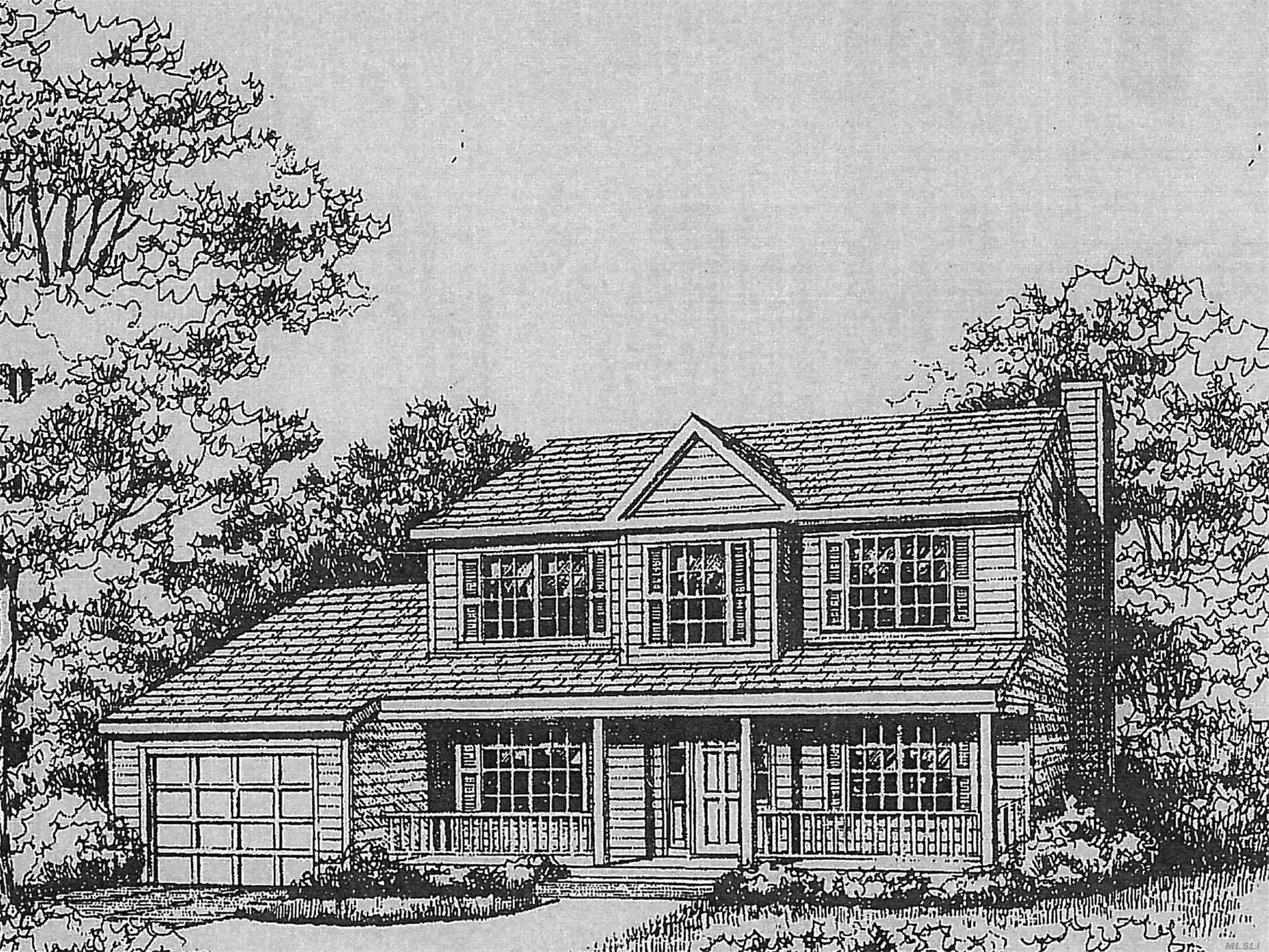 This Is Only One Of Several Models That Can Be Built On This Large, Wooded Lot, Facing Taylor Ct, Loaded With All The Bells And Whistles (Oak/Ceramic/Carpeted Flooring, Granite Tops, Ceramic Baths, Cathedral Ceilings), Close To Lie, Lirr, Shopping Centers, Houses Of Worship., Sachem Schools, Beautiful Wooded Lot, Custom Design Your Dream Home By Picking Out Your Favorite Granite, Ceramic Tile, Carpet And Cabinet Colors Now