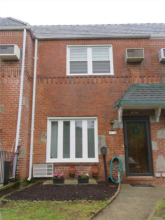 Showcase Brick One Family Home Fully Renovated 4 Years Ago Near The Park Featuring, Gorgeous New Kitchen 2/3 Bedrooms, 2 Full Bathrooms, New Roof, New Windows, Custom Tiles, Full Finished Walk Out Basement To Garage And Backyard, And Much Mire! Located On A Quiet Family Friendly Block Of Middle Village North! Don't Miss This Beautiful Home!