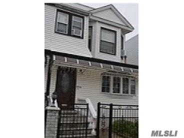 2 Family Home- 3 Over 2 With Full Finished Basement